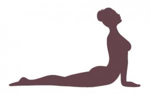 yoga übung: die Kobra