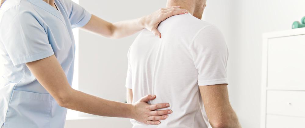 Untersuchung und diagnose Rückenschmerzen